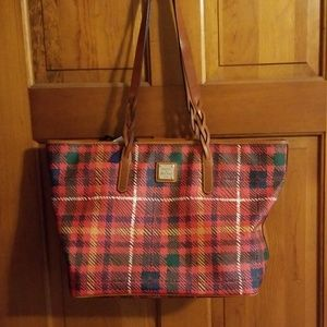 Dooney and Bourke Braided Shopper Tote